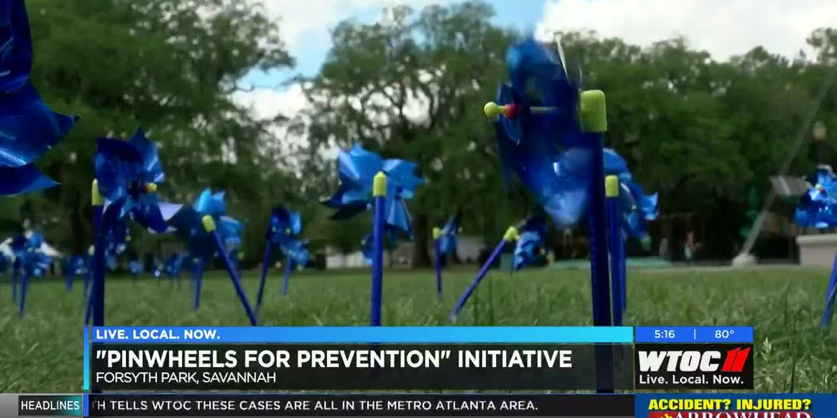 'Pinwheels for Prevention' initiative