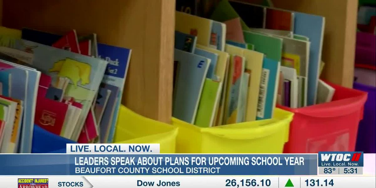 Beaufort Co. school district leaders speak about plans for upcoming school year