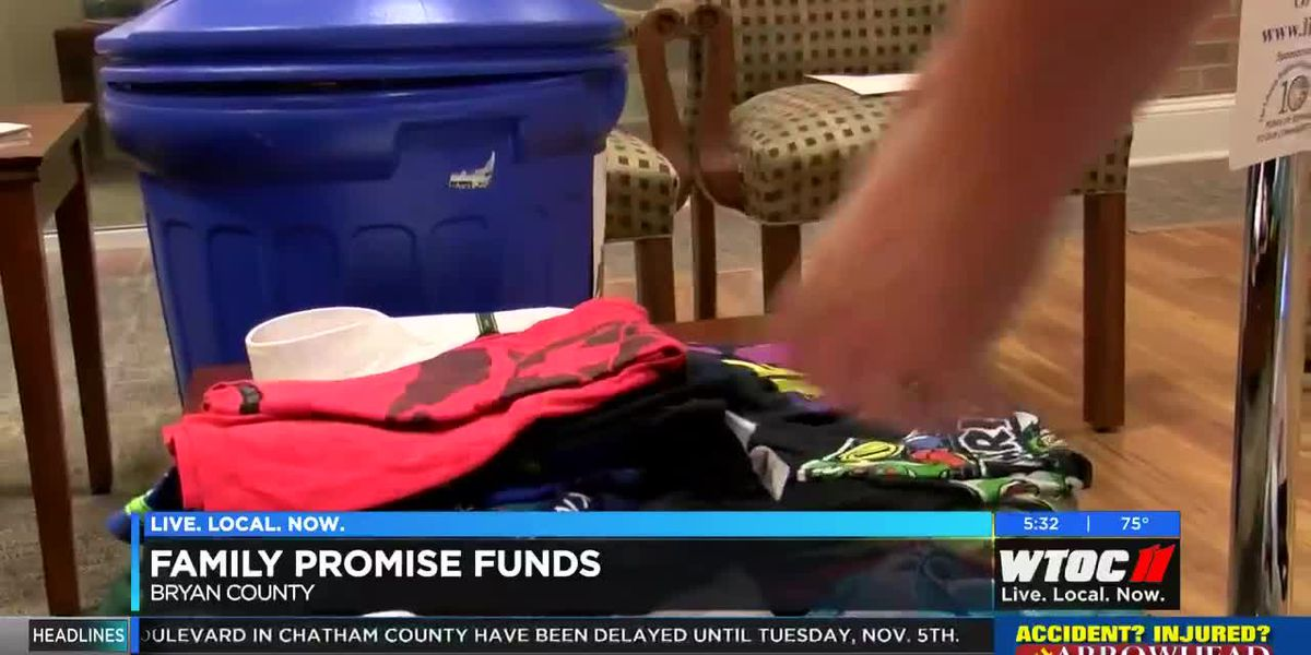 Savannah non-profit receives donation to help families facing homelessness