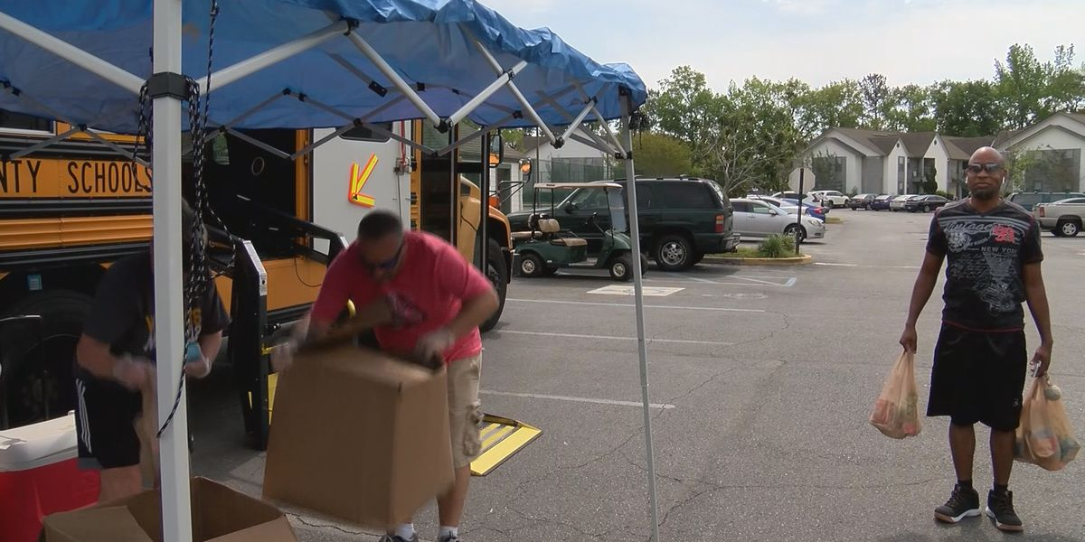Bryan County School District distributes free meals to Richmond Hill apartment complexes