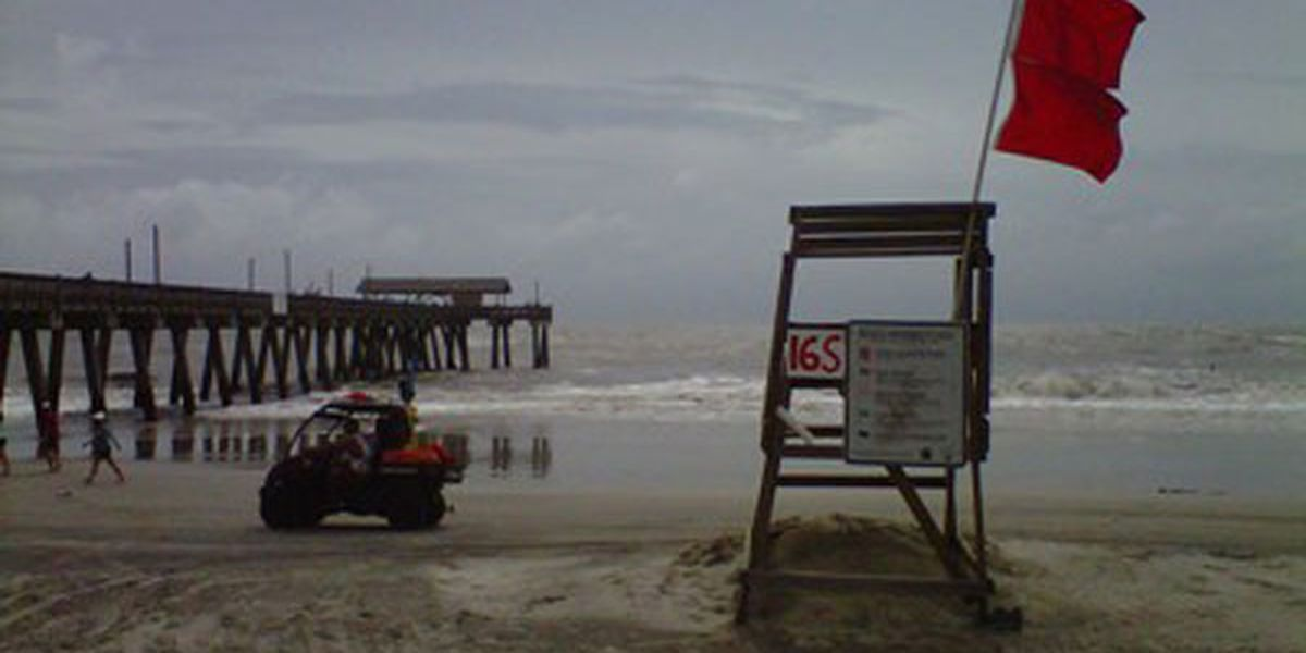 Tybee Lifeguards: Expect double red flags on Tybee for the next few days