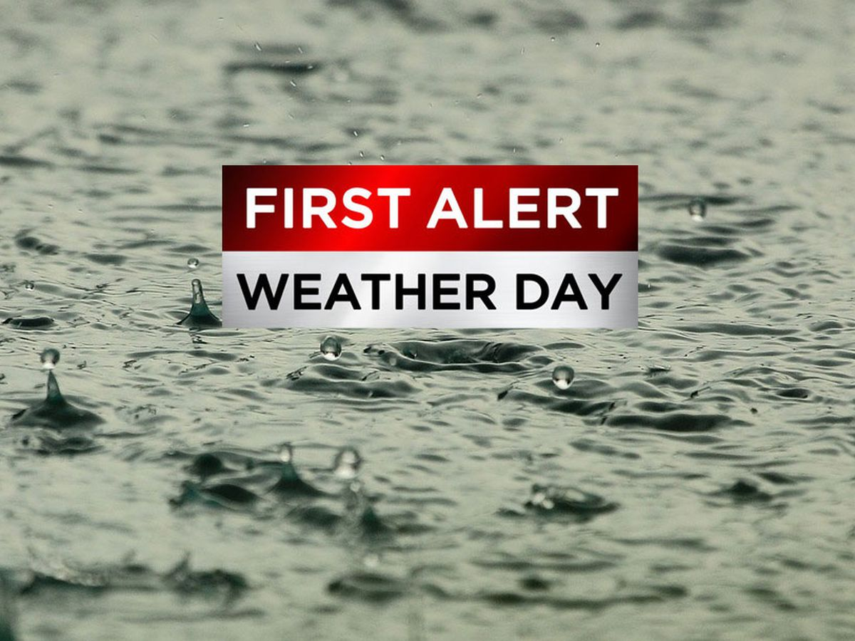 FIRST ALERT WEATHER DAY: Widespread wet weather expected Friday