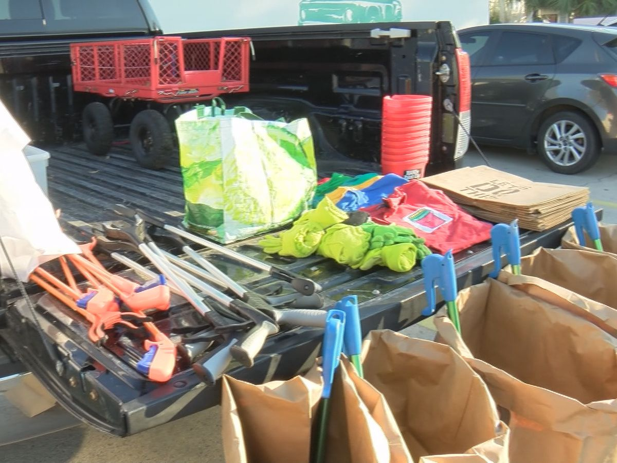 Local group collects litter data to encourage sustainable practices