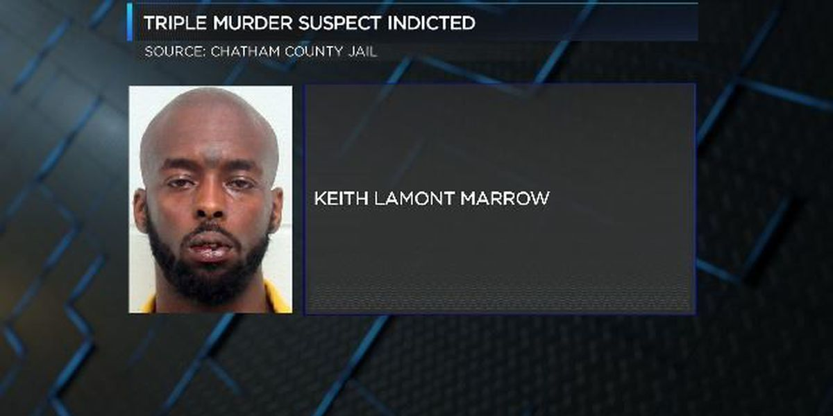 Gang-related triple homicide suspect indicted on Wednesday