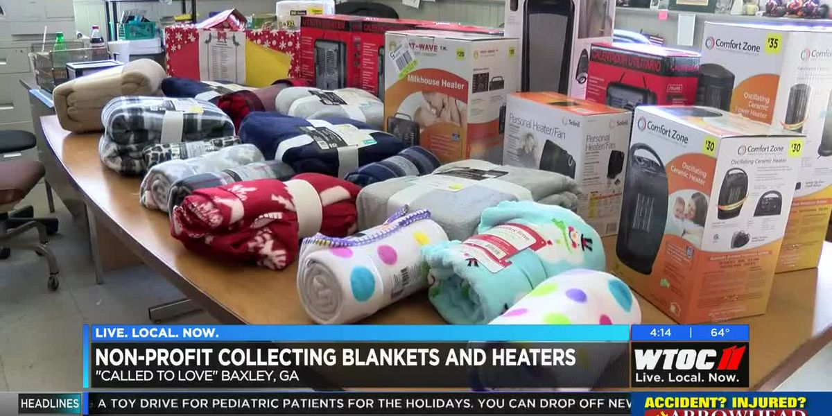 Non-profit in Baxley collecting blankets and heaters