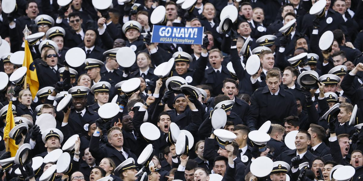 Naval Academy probes possible 'white power' gesture at game