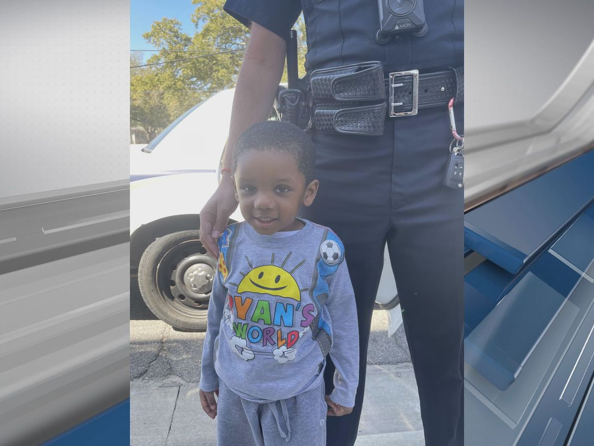 UPDATE: Police say contact made with guardian for child found near River Pointe Apartments