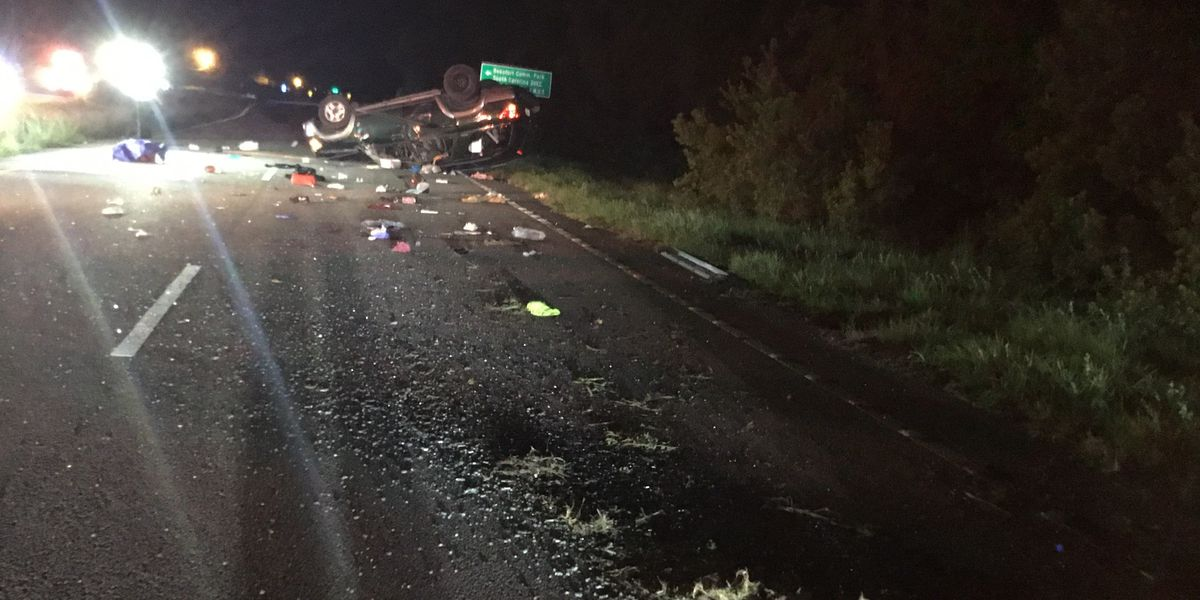 3 seriously injured, including child, in overnight crash on Trask Pkwy in Beaufort