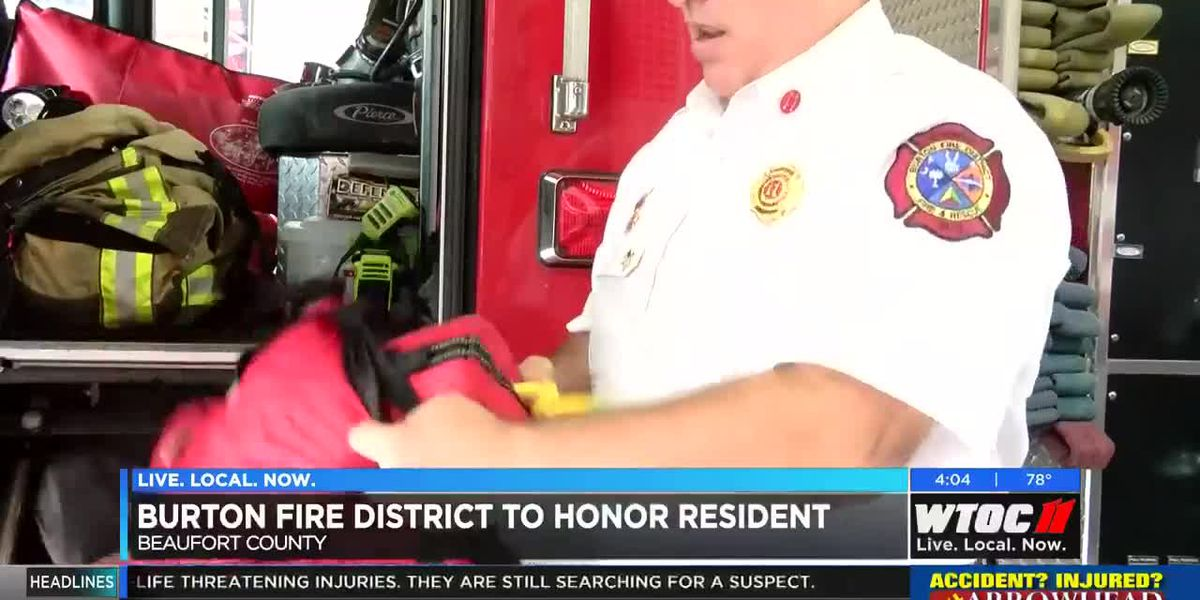 Burton Fire District to honor boat captain who saved man's life
