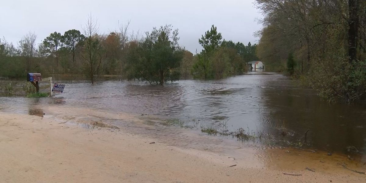 Rain leads to flooding in the Coastal Empire