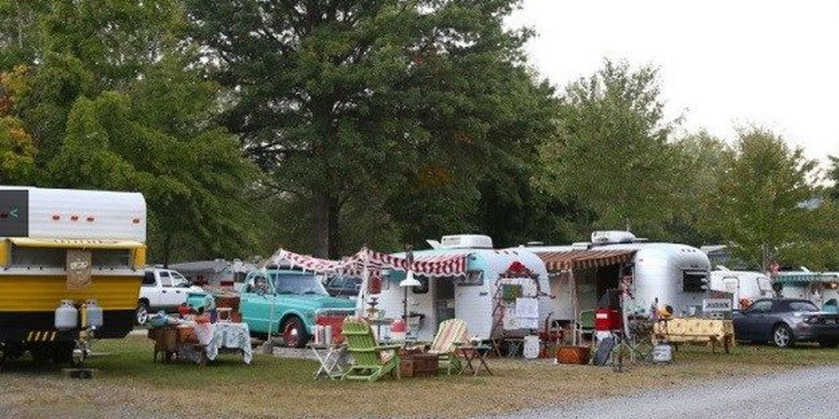 Vintage Trailer Show rolls into coastal Georgia