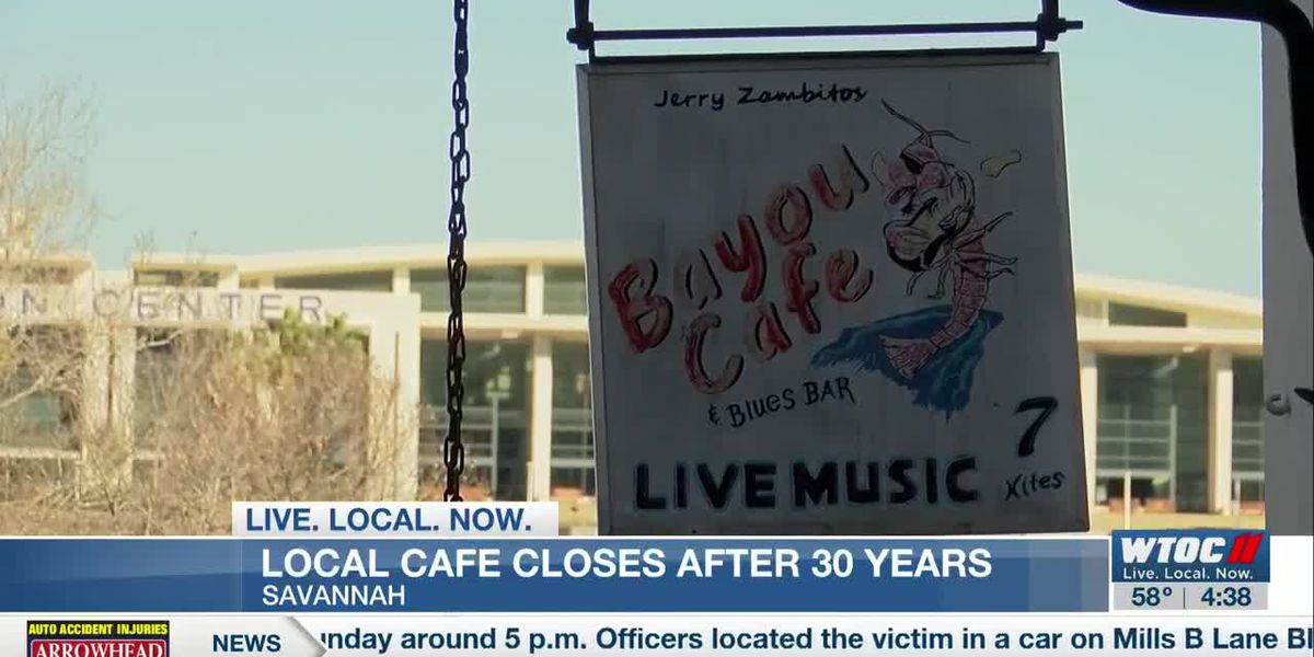 Bayou Cafe's 30 year run on River Street coming to an end