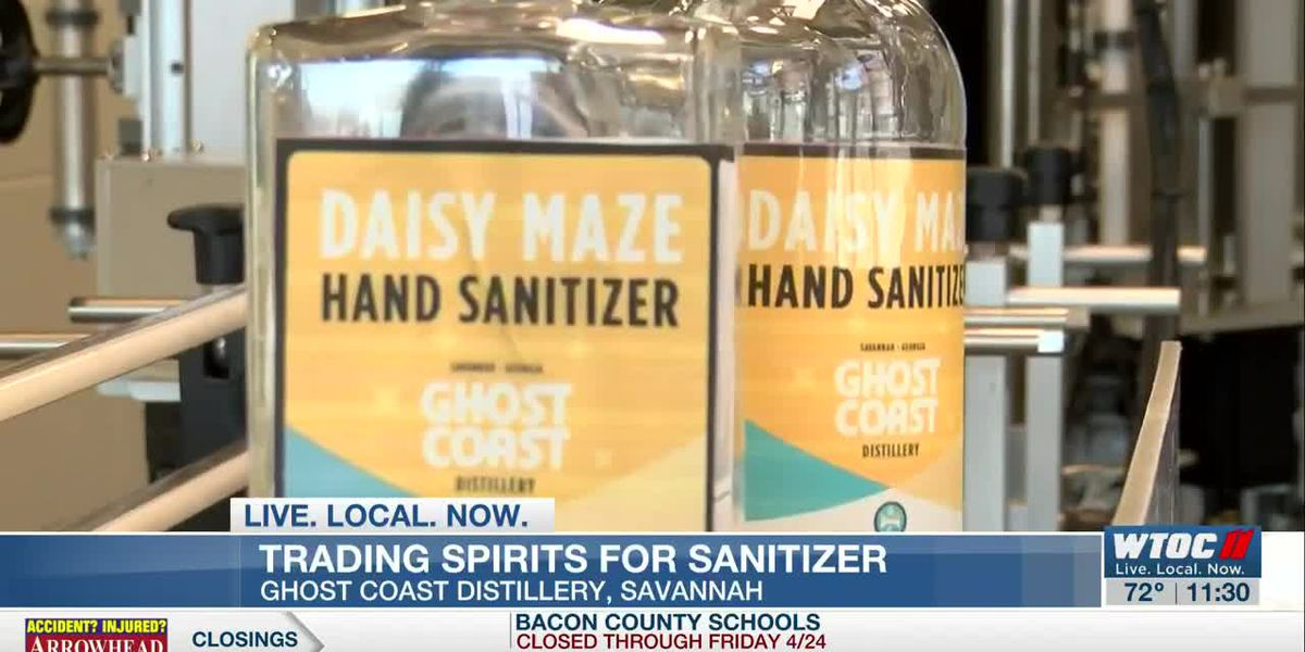 Ghost Coast Distillery switching to hand sanitizer production