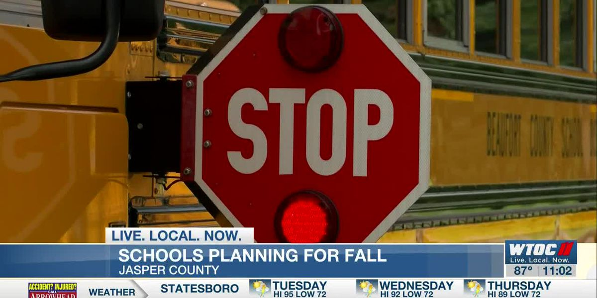 Jasper County School District officials announce preliminary plan to reopen schools