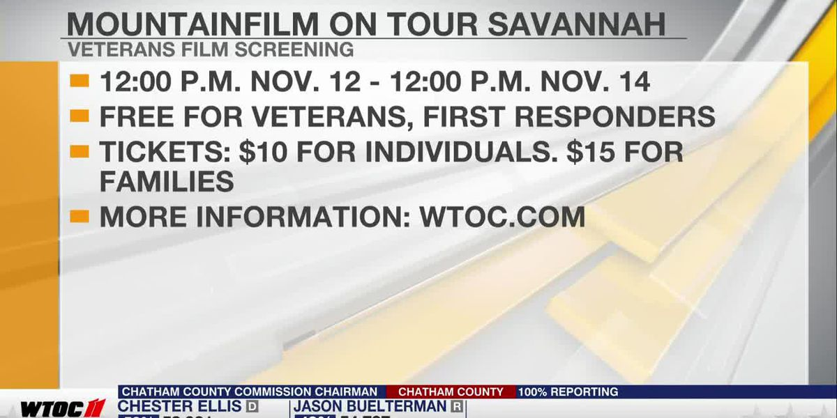 MountainFilm on Tour Savannah To Host Veterans Day Event