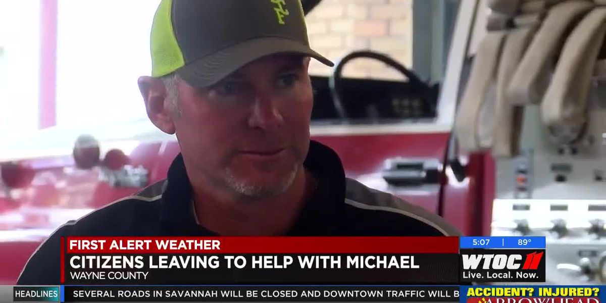 Wayne County citizens taking supplies to victims of Hurricane Michael