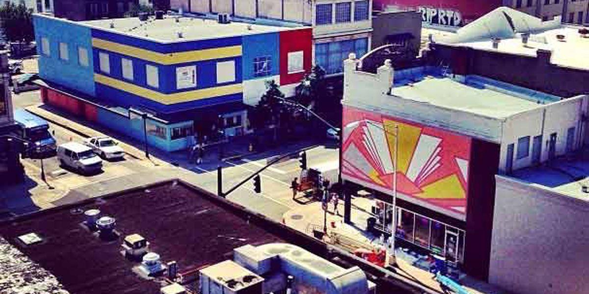 Broughton Street transformed into 'Spongetown'