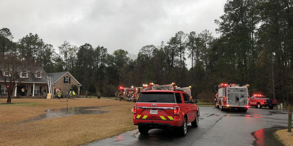 Fire crews respond to multiple homes struck by lightning in Effingham Co.