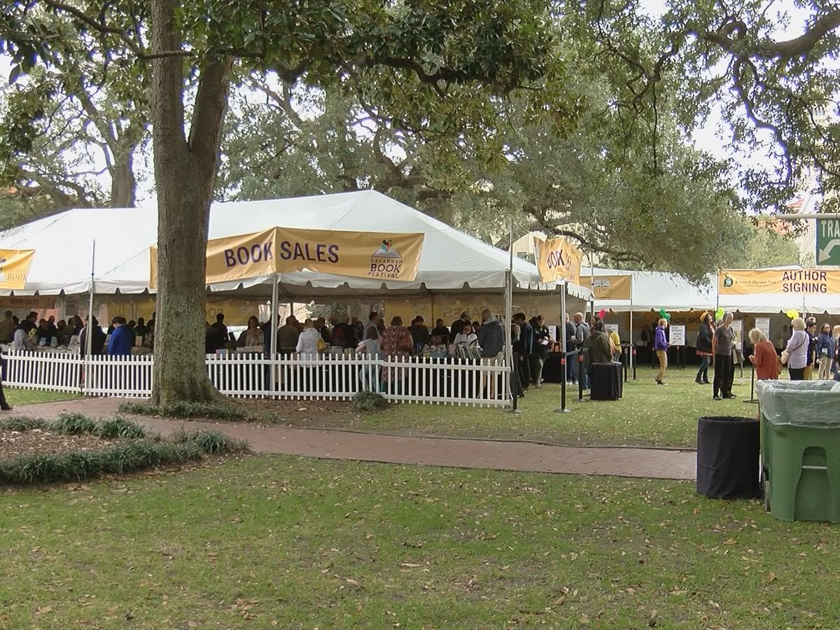 Authors receive inspiration during Savannah Book Festival