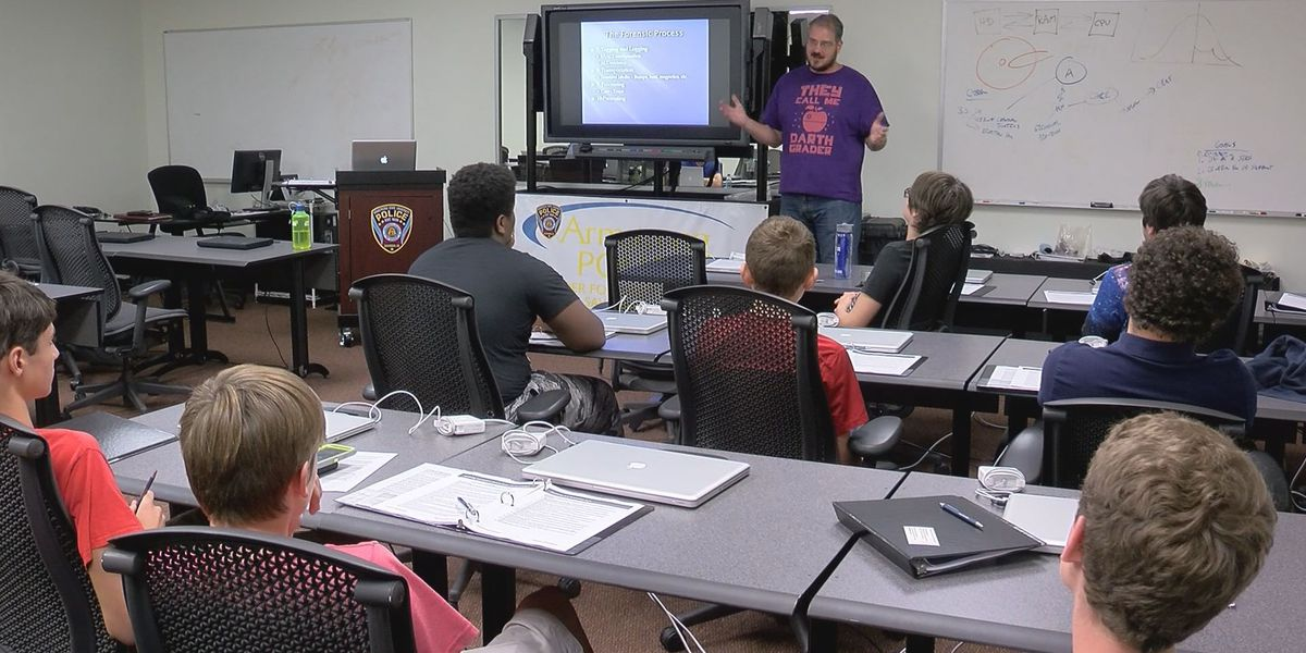Armstrong, Air Force Association begins two week 'CyberCamp'