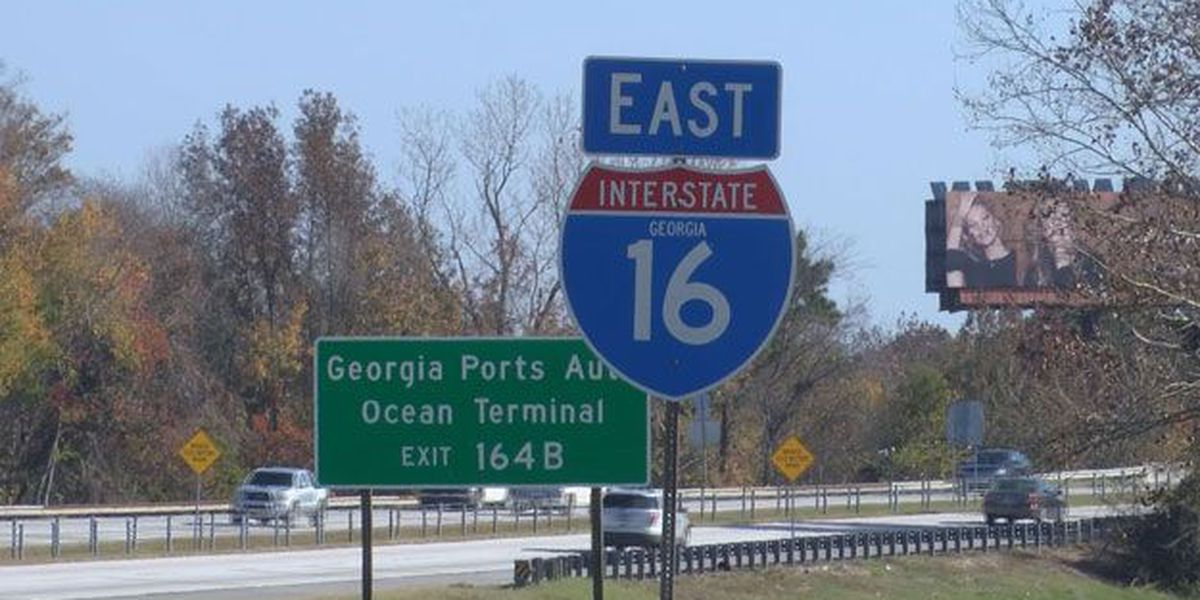 I-16 contra-flow has ended, resuming regular EB and WB lanes