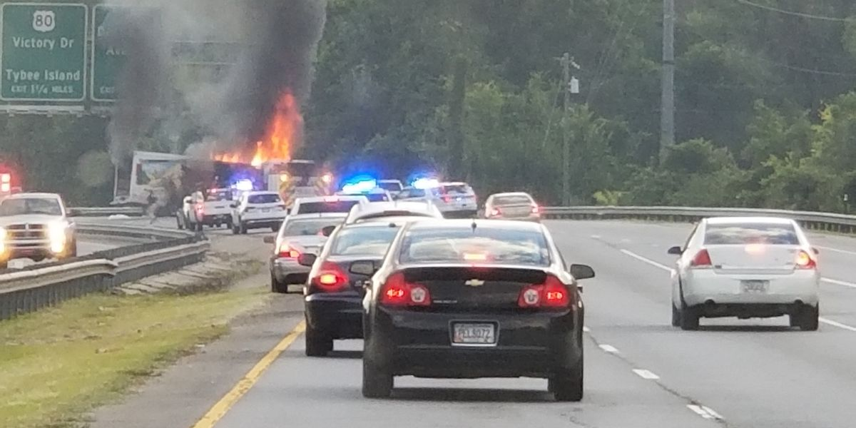 Truman Parkway has fully reopened to all traffic after crash, fire