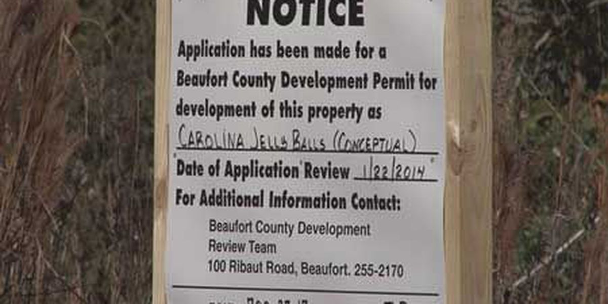 Public meeting to discuss proposed jelly balls plant in Beaufort Co.