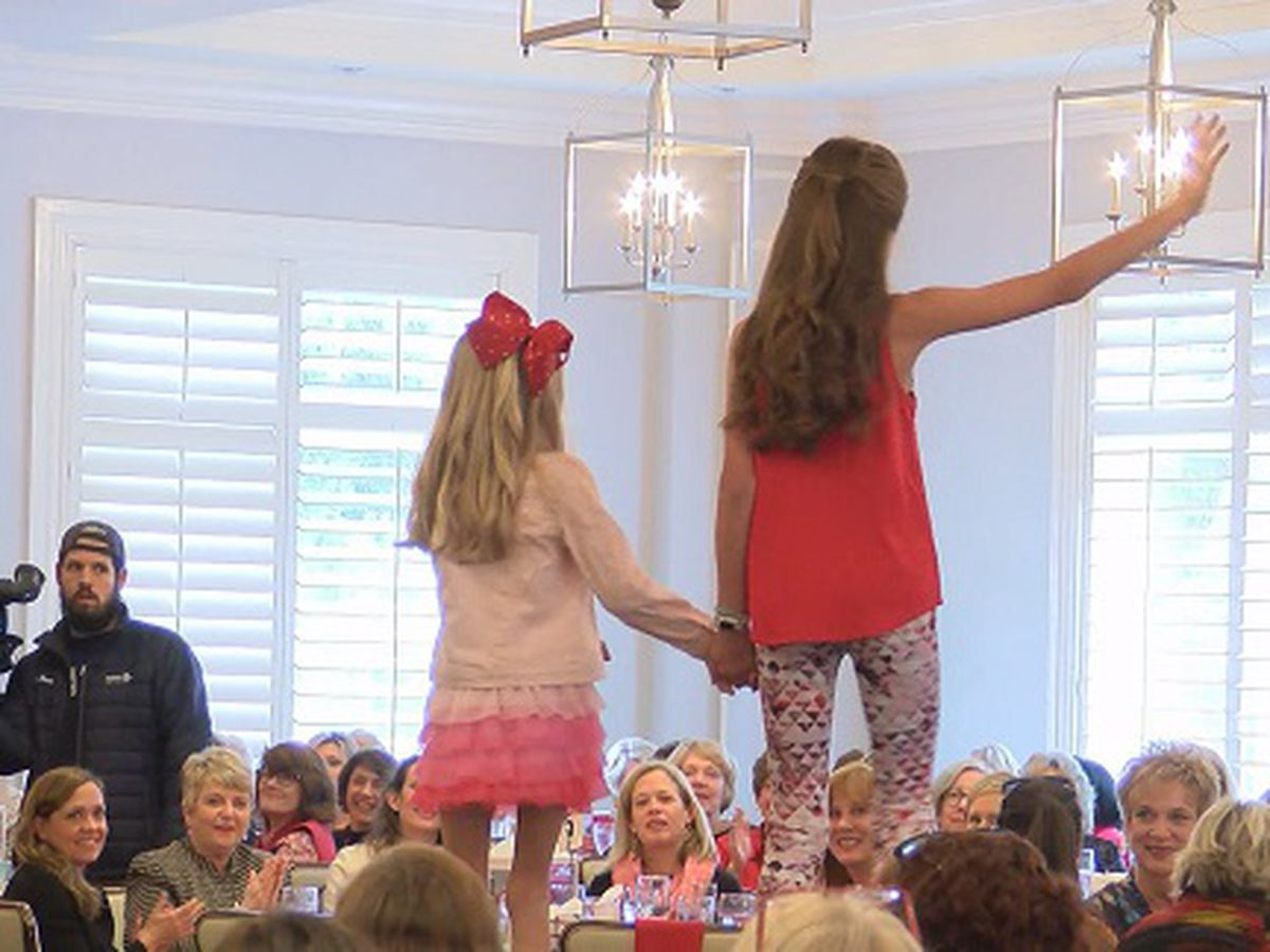 Go Red for Heart Fashion Show and Luncheon held in Savannah