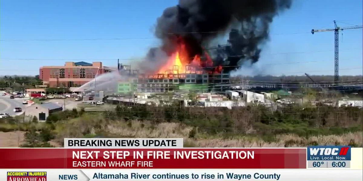 Officials give update on Eastern Wharf construction site fire