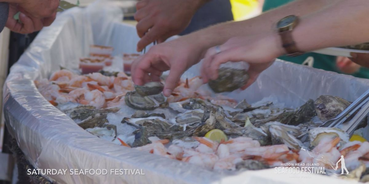 13th annual Hilton Head Island Seafood Festival begins