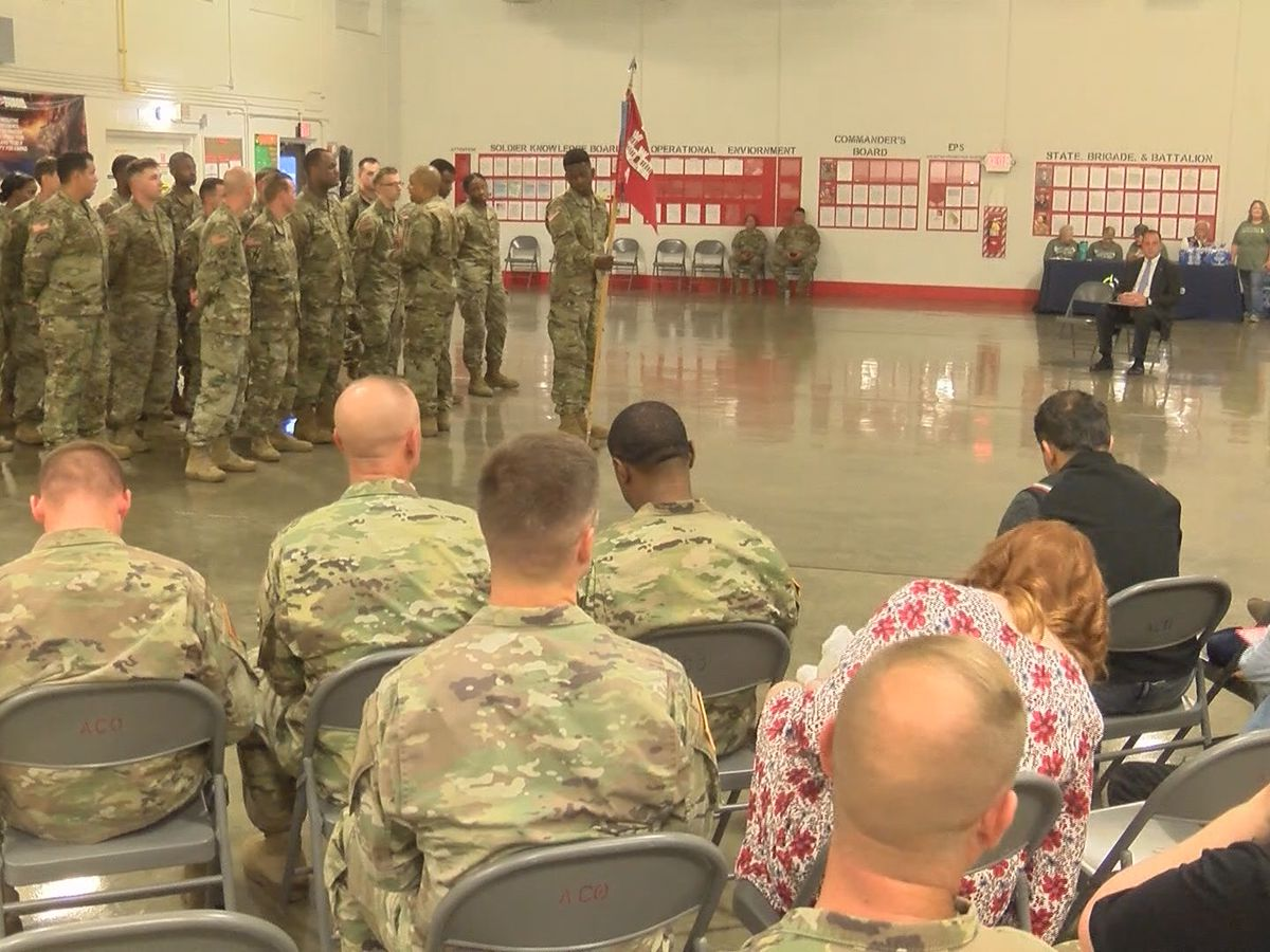 Glennville welcomes engineering battalion home