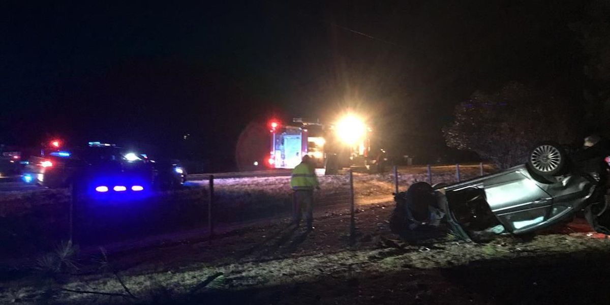 Long County wreck sends one to hospital