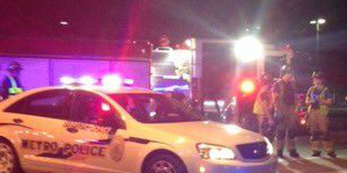 Pedestrian in serious condition after being struck by vehicle on DeRenne Ave. near Reynolds St.