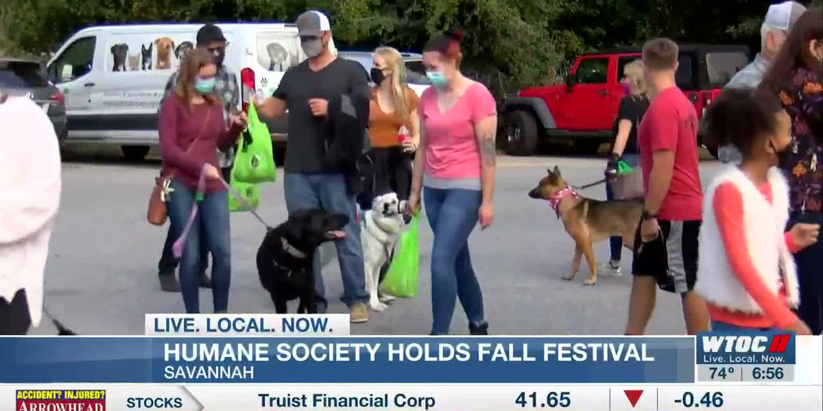 Humane Society for Greater Savannah holds first ever fall festival