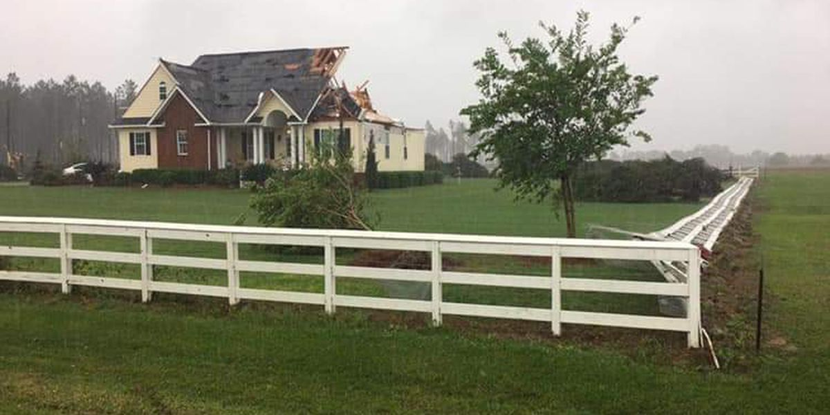 Damage reports: Confirmed tornado touch down in Colquitt Co.