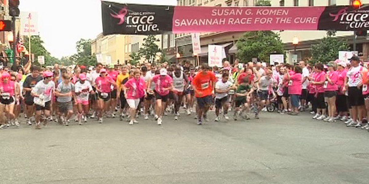 Thousands preparing for 2019 Komen Savannah Race for the Cure
