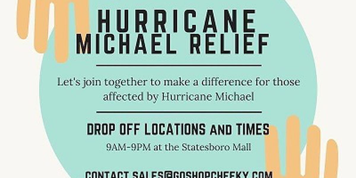 Clothing boutique in Statesboro collecting items to help Hurricane Michael victims