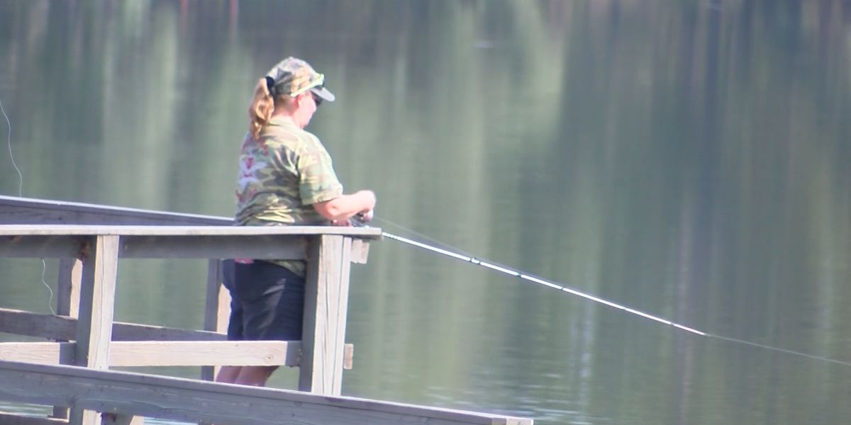 Fishing advice for those socially distancing near the water