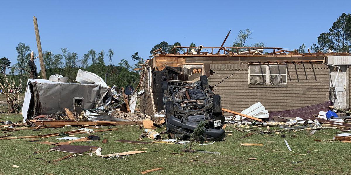 5 dead after EF-3 tornado passes through Hampton County, S.C.