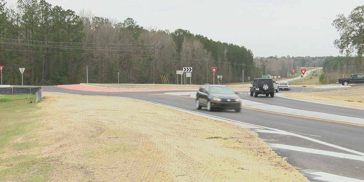 Fort Howard, Old Augusta Road roundabout complete