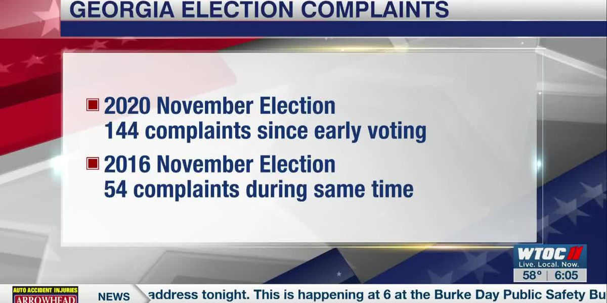 Georgia Secretary of State's office dealing with more election complaints than usual