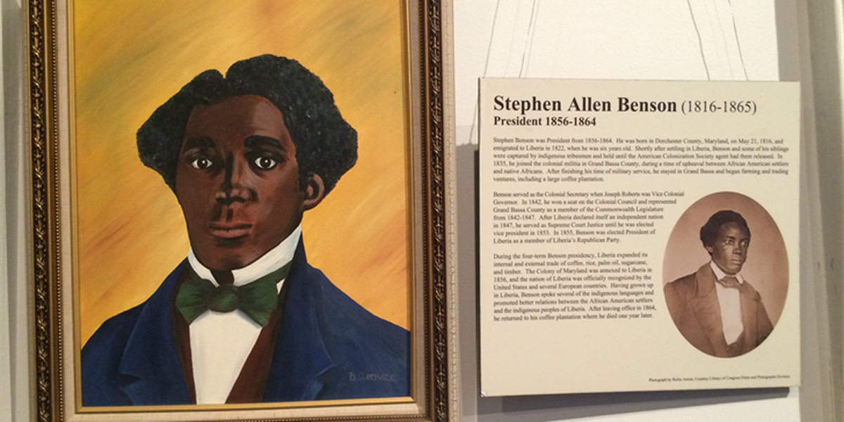 11 African American born presidents exhibit on display at Beach Institute