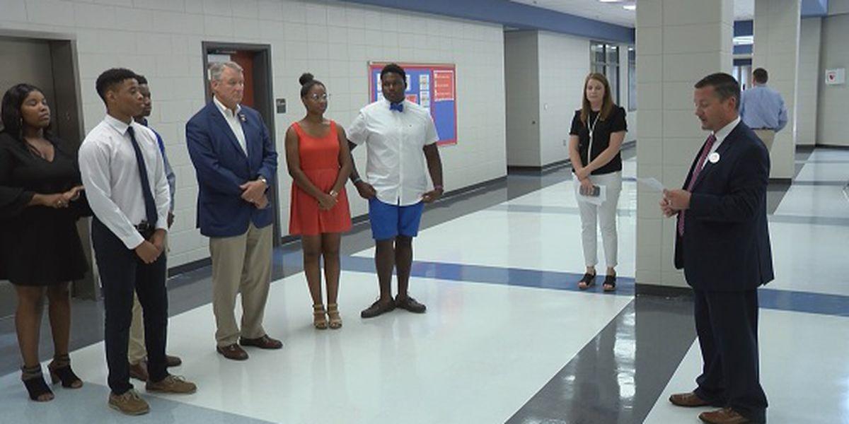 U.S. Rep. Rick Allen tours Montgomery County High School