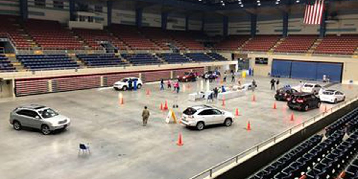 Coastal Health District tests hundreds for COVID-19 during their first day at Savannah Civic Center