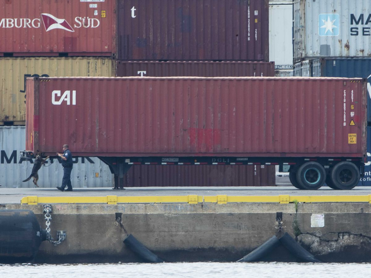 More than 16 tons of cocaine intercepted at Philadelphia port