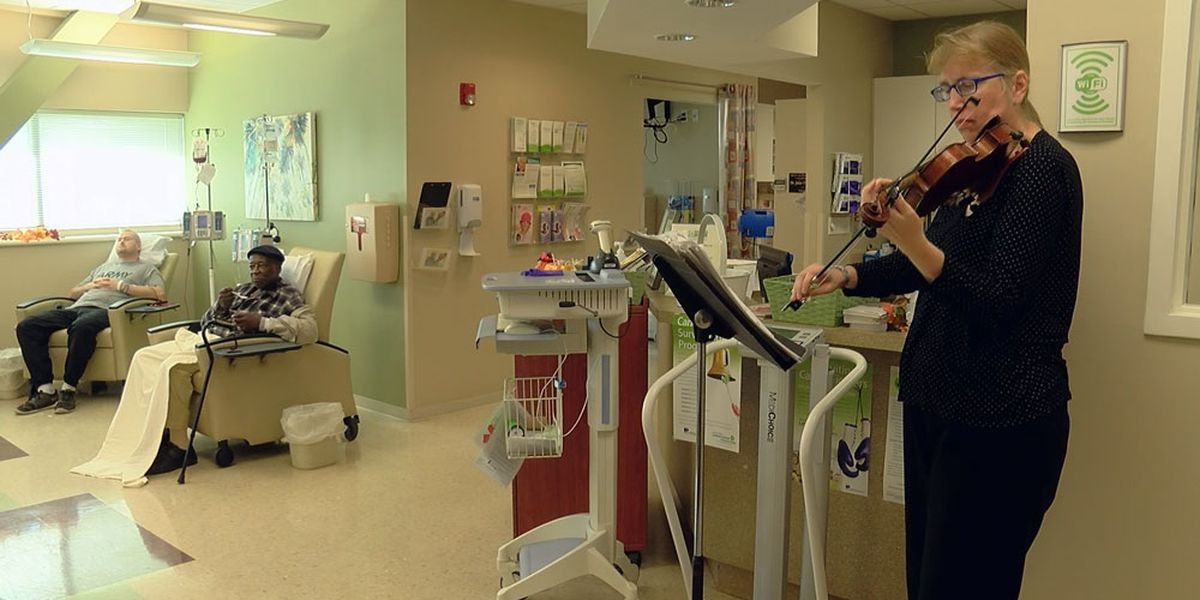 Music therapy program aims to help cancer patients in Savannah