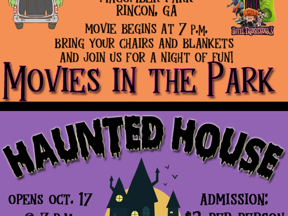 Rincon trunk-or-treat, movie rescheduled due to weather