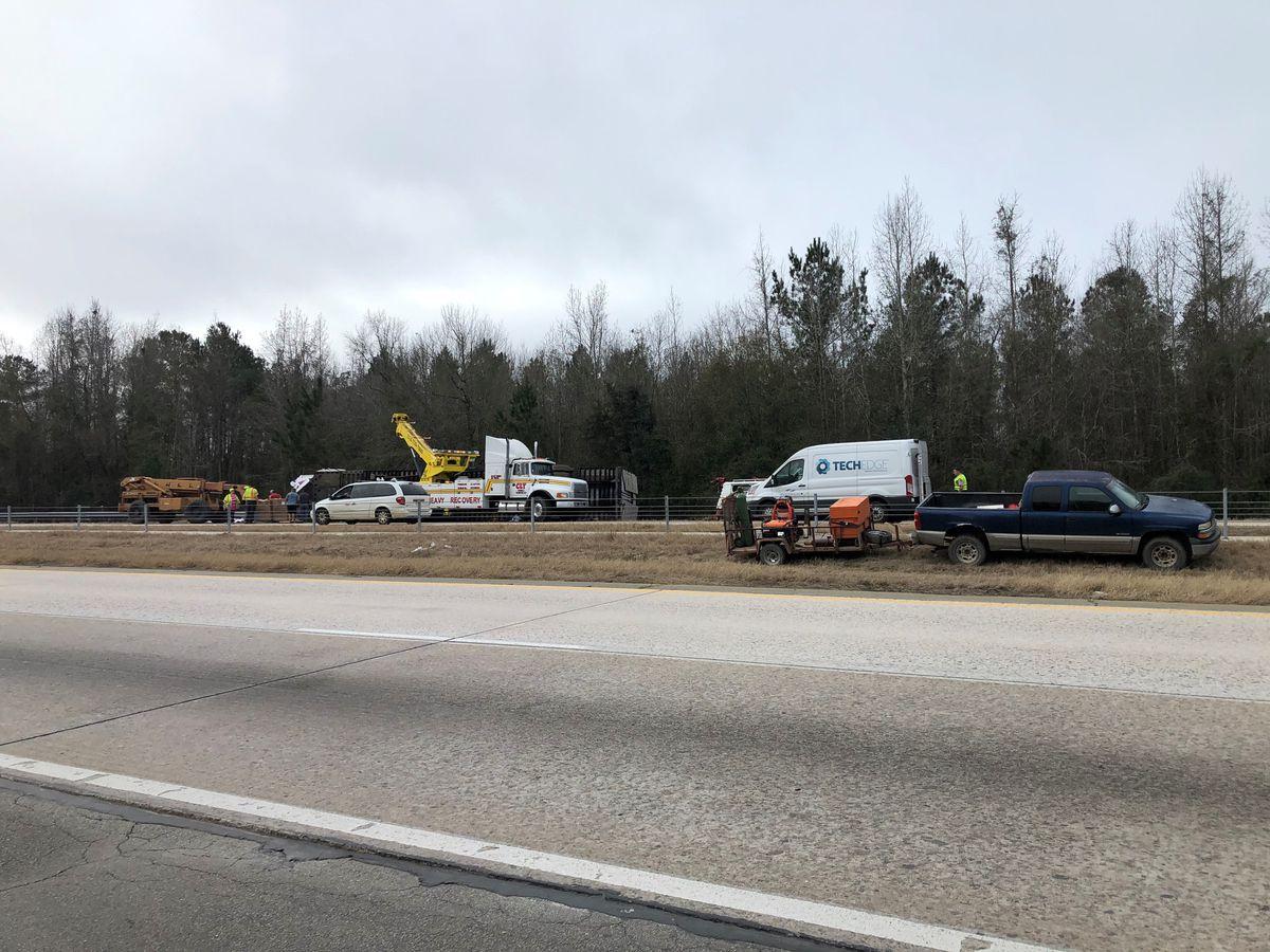 Crashes cause major delays on I-16 Monday morning