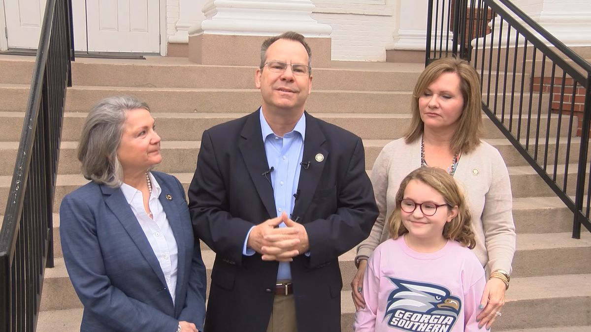 New Georgia Southern president makes first campus visit