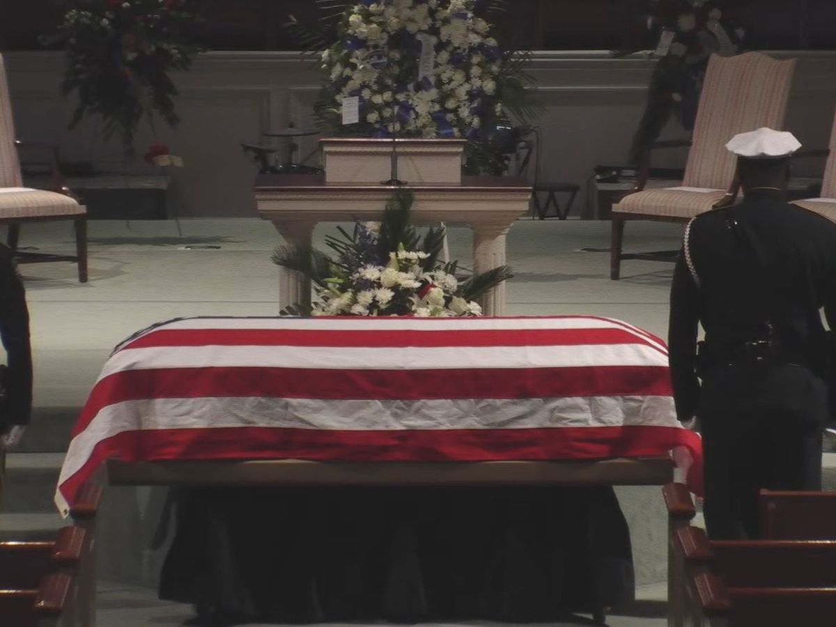 Funeral service held for fallen Savannah officer, Sgt. Kelvin Ansari